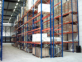 Palletstelling Magazijninrichting